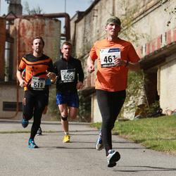 42. jooks ümber Ülemiste järve - Aarne Luud (461), Heiki Pruul (618)