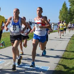 Jüri Jaansoni Kahe Silla jooks - Ago Veilberg (22), Indrek Ilumäe (38), Reget Roomet (99)