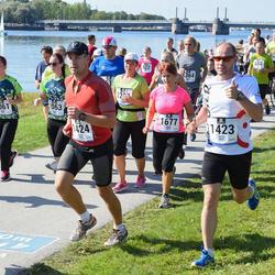 Jüri Jaansoni Kahe Silla jooks - Annika Seits (1061), Kaupo Torro (1423), Ivo Elster (1424)