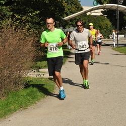 SEB Tallinna Maraton - Armin Allmäe (476), Ilkka Koivisto (582)
