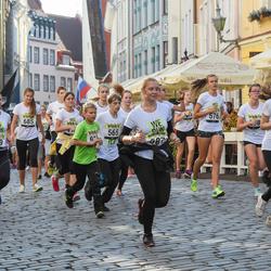 Nike noortejooks - Ramona Mägi (370), Aleksandr Selevko (565), Elisabeth Luisk (587), Anna-Liis Tarm-Kriis (661)