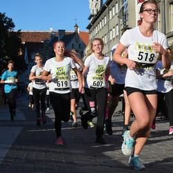 Nike noortejooks - Anna Haritonova (518), Kristin Rossmann (607), Evely Pajula (619)