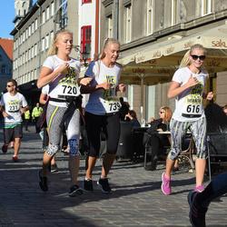 Nike noortejooks - Karin Raudsalu (616), Berit Kiik (720), Krista Kiik (739)
