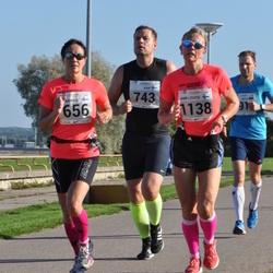 SEB Tallinna Maraton - Annika Lundström-Nygård (656), Juha Terviö (743), Ann-Louise Engström (1138)