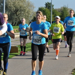 SEB Tallinna Maraton - Ando Kangur (326), Elizabeth Truu (1314), Karin Sangla (1529)
