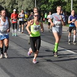 SEB Tallinna Maraton - Märt Tomp (323), Brit Rammul (401)