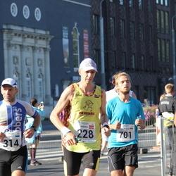 SEB Tallinna Maraton - Andris Leja (228), Peeter Kand (314), Karl Peeter Valk (701)