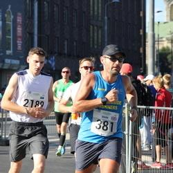 SEB Tallinna Maraton - Mark Atkinson (381), Artsemi Kalahryu (2189)