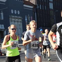 SEB Tallinna Maraton - Brit Rammul (401), Tarvo Treier (438)