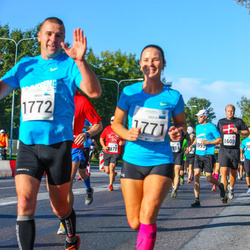 SEB Tallinna Maraton - Deevi Ots (1771), Ando Mesi (1772)