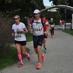 SEB Tallinna Maraton - Annika Veimer (954), Kaido Vetevoog (2164)