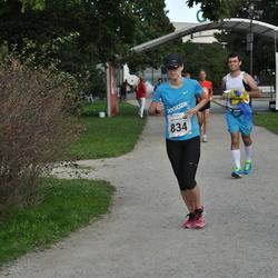 SEB Tallinna Maraton - Caisa-Merili Mõik (834), Julia Gubar (1759)
