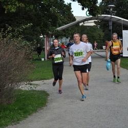 SEB Tallinna Maraton - Gert Saamann (1597), Bernd Vieker (2693), Liis Sooäär (2884), Kerli Matvere (4878)