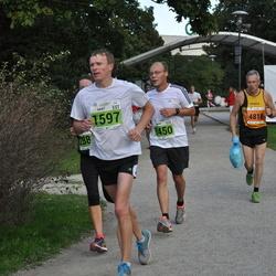 SEB Tallinna Maraton - Ando Viispert (1450), Gert Saamann (1597), Bernd Vieker (2693), Kerli Matvere (4878)