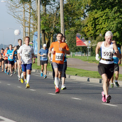 SEB Tallinna Maraton - Heli Iso-Järvenpää (593), Arno Vaik (2233)