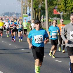 SEB Tallinna Maraton - Artturi Kivinen (999), Mario Rego (1507)