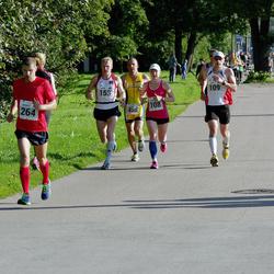 SEB Tallinna Maraton - Annika Vaher (108), Anti Toplaan (109), Janar Säkk (153), Andres Ramst (264)