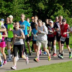 SEB Tallinna Maraton - Karl Siderits (615), Aet Udusaar (658), Thomas Heinje (727)