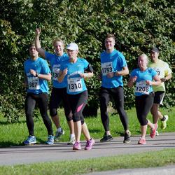 SEB Tallinna Maraton - Britt Pellä (1208), Külli Tulvik (1310), Madis Sulg (1793)