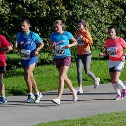 SEB Tallinna Maraton - Marin Aleksejeva (1429), Bruno Münter (1505), Sari Hirvelä (1544), Claudio Romani (2055)
