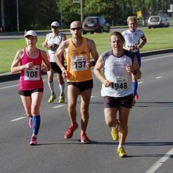 SEB Tallinna Maraton - Annika Vaher (108), Richard Varaine (137), Pekka Leinonen (1948)
