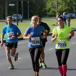 SEB Tallinna Maraton - Indrek Reismann (1447), Anni Laakso (1536), Anni Liukka (2175)