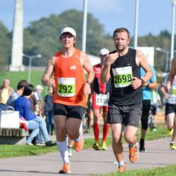 SEB Tallinna Maraton - Aivar Saar (292), Ain Kurvits (1718), Andero Sopp (2698)