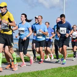 SEB Tallinna Maraton - Gert Hendrikson (872), Heiki Rebane (1184), Artjom Filippov (1867), Karmen Laikre (1996)
