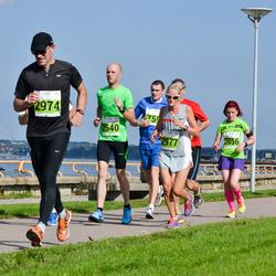 SEB Tallinna Maraton - Alvar Alamaa (2540), Liis Kilk (2856), Ari Karhinen (2974), Renee Järvalt (2977)