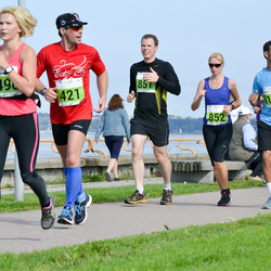 SEB Tallinna Maraton - Robert Mälk (421), Lehar Oha (851), Birgit Haasmaa (852)