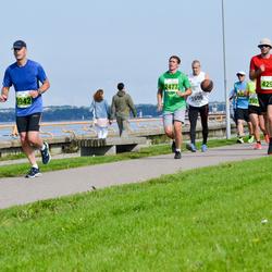 SEB Tallinna Maraton - Veiko Tõkman (429), Jan Stinissen (1942), Aleksei Agafonov (2477)