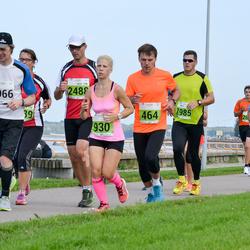 SEB Tallinna Maraton - Erik Tiits (464), Eva Raun (930), Kristjan Kalam (1209), Ainar Ojasaar (1966), Dmitry Filatov (1985), Ricky Berglund (2488)
