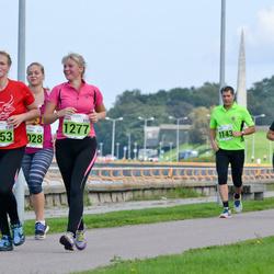 SEB Tallinna Maraton - Mari-Ly Proos (1253), Piret Kass (1277), Christer Kallio (1474)