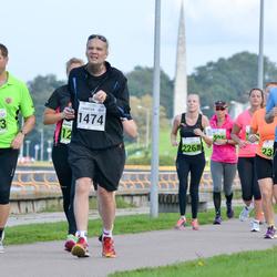 SEB Tallinna Maraton - Tarmo Terep (1143), Tanel Peet (1399), Christer Kallio (1474), Julia Kraam (2268)