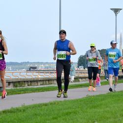 SEB Tallinna Maraton - Sanni Kurkela (1018), Esko Skants (1019), Peeter Maripuu (2087), Agne Väljaots (2806)