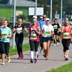 SEB Tallinna Maraton - Klarika Kunst (747), Karolin Lorents (1538), Kelli Somelar (2296), Liina Vulla (2604), Ann-Christine Allik (2988)