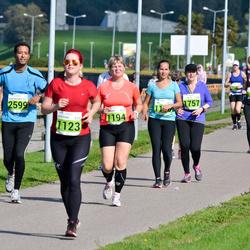 SEB Tallinna Maraton - Kristiina Pärnik (1123), Maarika Saks (1194), Arja Salmi (1757), Abdelrahman Elbayrekdar (2599)