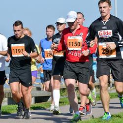 SEB Tallinna Maraton - Denis Stahnevitš (297), Aadu Polli (1150), Rando Siimon (1158), Alar Koot (1197)