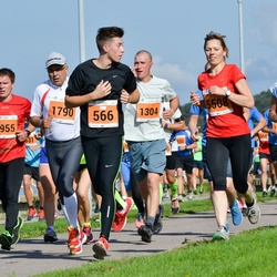 SEB Tallinna Maraton - Villem Tõnissoo (566), Martin Kurro (1304), Artur Palm (2108)