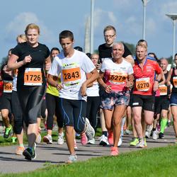SEB Tallinna Maraton - Kristel Prikko (1726), Boris Mazko (2843), Meelis Zimmermann (6270), Kai Moisar (6279)