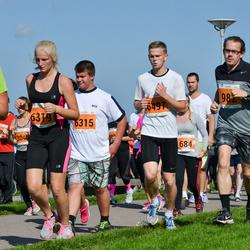SEB Tallinna Maraton - Annabel Kallis (6319), Andre Maisväli (6497)