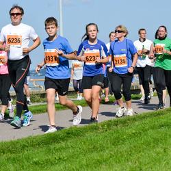 SEB Tallinna Maraton - Svetlana Volmar (2135), Marina Mazur (4743), Adrian Mõttus (4937), Hjalmar Konno (6236)