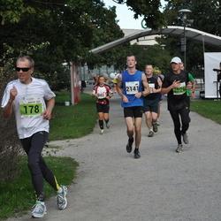 SEB Tallinna Maraton - Martin Lauren (178), Anna Kravchenko (945), Märt Tõnson (2141), Aleksandr Saženkov (3026)