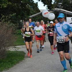 SEB Tallinna Maraton - Alexander Plaikner (532), Valentin Khokhlov (2433), Hillevi Velba (2849)