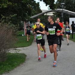 SEB Tallinna Maraton - Evelin Märtson (453), Andre Pukk (601)