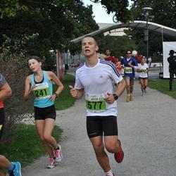 SEB Tallinna Maraton - Kerda Timmusk (241), Arnaud Guiraud (471), Erkki Saarniit (513), Artur Kamberg (577)
