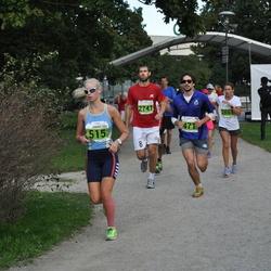 SEB Tallinna Maraton - Arnaud Guiraud (471), Annika Hillak (515), Vootele Poll (2741), Irina Lisichkina (2867)