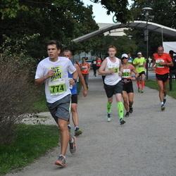 SEB Tallinna Maraton - Roman Dmitrachenkov (163), Nina Kujanpää (362), Mike Tammoja (774), Charles Christiansen (1388)