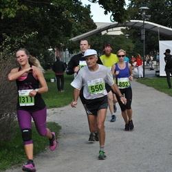 SEB Tallinna Maraton - Enn Pärtma (550), Birgit Haasmaa (852), Mary Vaarpu (1311)