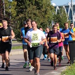 SEB Tallinna Maraton - Agate Darvina (2933), Joonas Mattias Laur (3554)